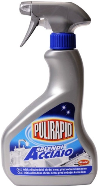 Pulirapid Splendi na nerez 500ml