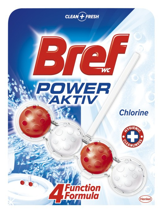 Bref Power Activ Chlorine WC Blok 50g