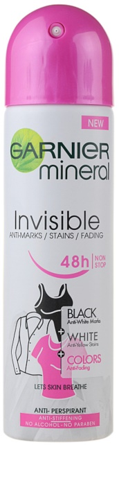 Garnier Invisible Black & White Floral dámsky deodorant 150ml