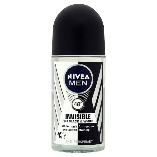 Nivea Men Invisible for Black & White Power roll-on 50 ml