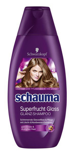 Schauma Superfrucht Gloss šampón na vlasy 400ml