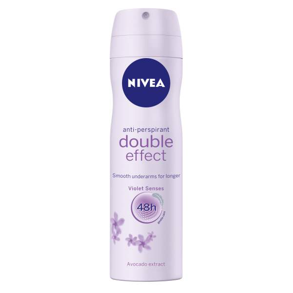 Nivea Double Effect Violet deospray 200 ml