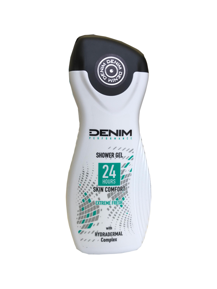 Denim Performance Extreme Fresh sprchový gél 250ml