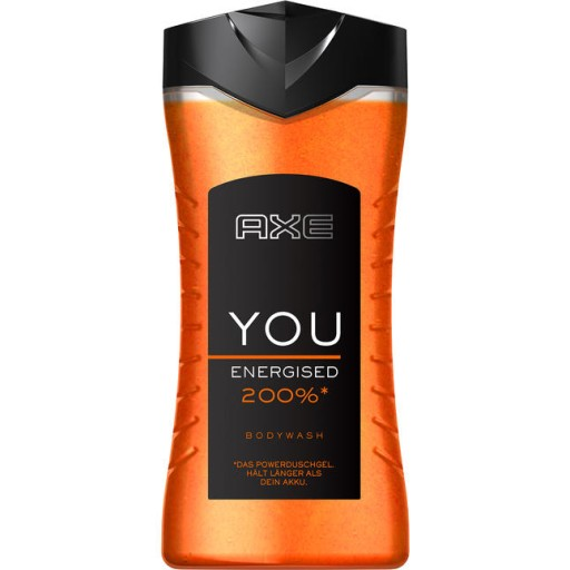 Axe You Energised 200% sprchový gél 250ml