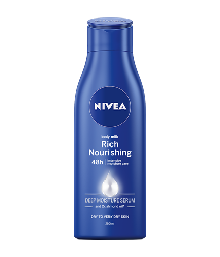 Nivea Body Milk telové mlieko 250ml