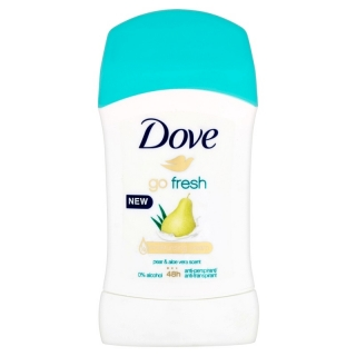 Dove Go Fresh Hruška & Aloe Vera tuhý deo stick 40ml