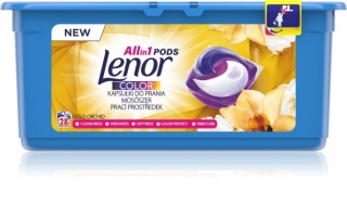 Lenor Gold Orchid color gélové kapsule 44ks