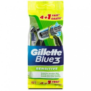 Gillette Blue III Sensitive 12ks