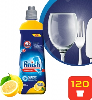Calgonit Finish Shine & Dry  leštidlo do myčky 800 ml