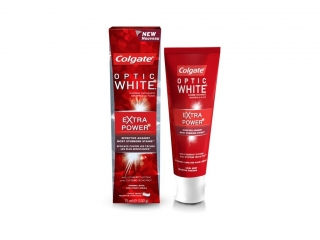 Colgate Optic White Extra Power zubná pasta 75ml