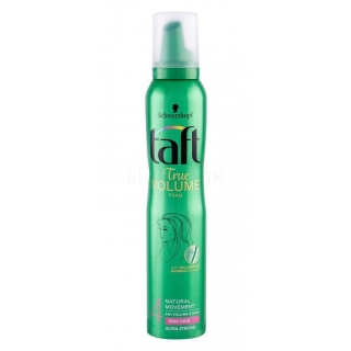Taft True Volume penové tužidlo na vlasy Ultra Strong 4 200 ml