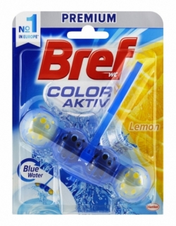 Bref Color Aktiv Lemon WC blok 50g