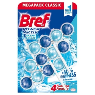 Bref Power Aktiv Ocean Breeze WC Blok 3x50g