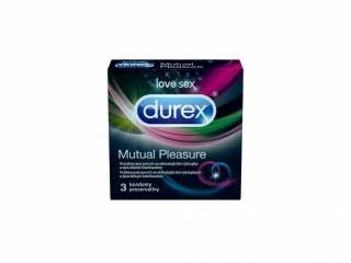 Durex Mutual Pleasure kondómy 3ks