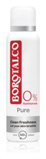 Borotalco deospray antiperspirant Pure 0% aluminium 150ml