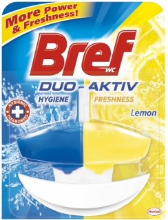 Bref Duo Active system WC gel Lemon 50ml