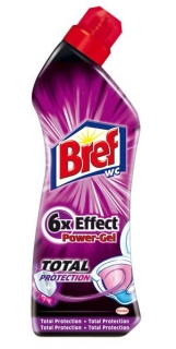 Bref WC gél Total Protection 750ml