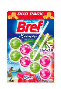 Bref Power Activ Hawaii WC Blok 2x50g