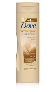 Dove Summer Glow telové mlieko 250ml
