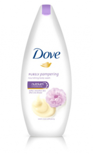 Dove Purely Pampering smotana a pivonka sprchový gél 500ml