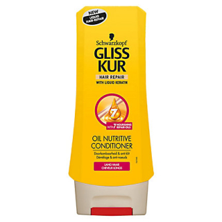 Gliss Kur Oil Nutritive kondicionér na vlasy 200ml