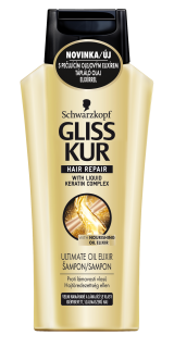 Gliss Kur Ultimate Oil Elixir šampón 250ml