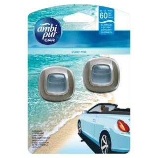 Ambi Pur Car Ocean Mist Duo Pack 2 x 2 ml
