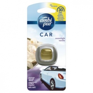 Ambi Pur Car Moonlight Vanilla osviežovač vzduchu do auta 2ml
