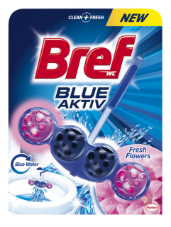 Bref Blue Aktiv Fresh Flowers WC blok 50g