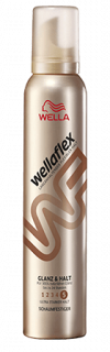 Wellaflex Glanz & Halt penové tužidlo 200ml