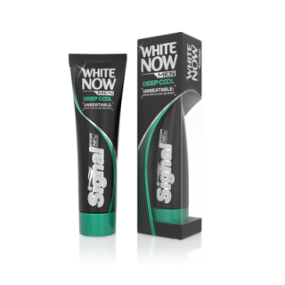 Signal White Now Men Deep Cool zubná pasta 75ml