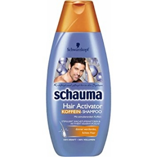 Schauma Men Hair Activator šampón na vlasy 400ml