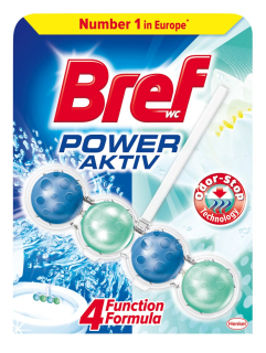 Bref Power Aktiv Odor Stop WC Blok 50g