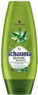Schauma Nature Moments Mediterran Olive Oil & Aloe Vera balzam na vlasy 200ml