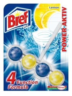 Bref Power Activ Lemon WC Blok 50g