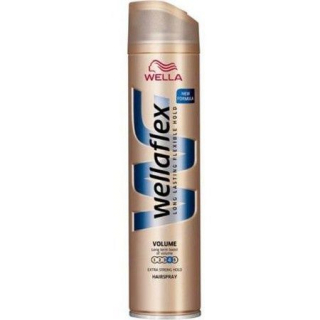 Wellaflex Instant Volume Boost 4 lak na vlasy 400ml