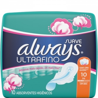 Always Ultrafina Normal 10ks