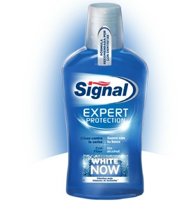 Signal Expert Protection White Now ústna voda 500ml