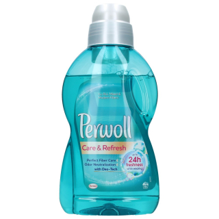 Perwoll Care & Refresh gél na pranie 900ml/1l 15PD