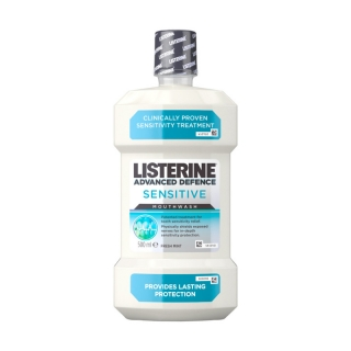 Listerine Sensitive ústna voda 500ml