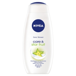 Nivea Care & Star Fruit sprchový gél 500ml