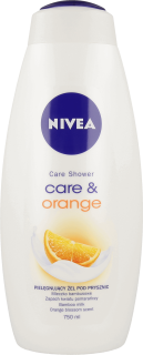 Nivea Care & Orange sprchový gél 750ml