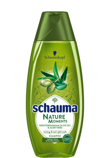 Schauma Natur Moments Olive oil & Aloe Vera šampón na vlasy 400ml