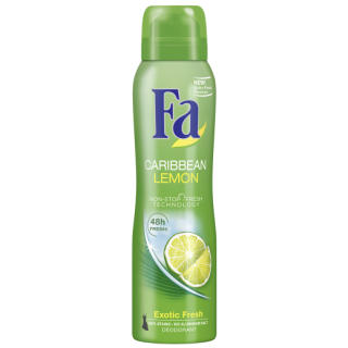 Fa Caribbean Lemon deodorant 150ml