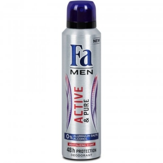 Fa Men Active & Pure deodorant 150ml