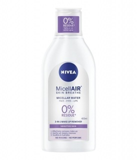 Nivea MicellAIR Sensitive Skin Breathe micelárna voda 400ml