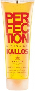 Kallos Perfection Styling gél na vlasy extra- žltý 250ml