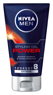 NIVEA Men Power gél na vlasy 150ml