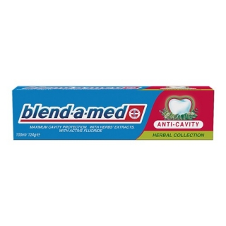 Blend-a-med Anti Cavity Herbal zubná pasta 100ml