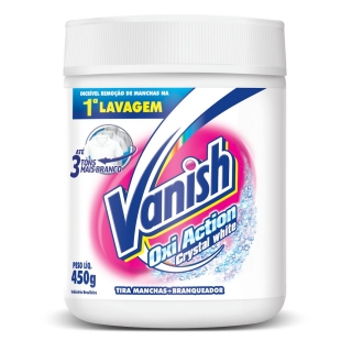 Vanish Oxi Action Crystal White prášok na škvŕny 450g